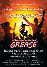 SummernightsGreasePlakat